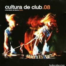 CDs de Música: DOBLE CD ÁLBUM: CULTURA DE CLUB.08 - EXTENDED VERSIÓN - 22 TRACKS - UNIVERSAL MUSIC 2008. Lote 115179675