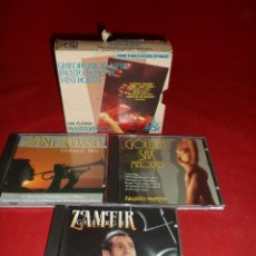 CDs de Música: GH. ZAMFIR: F. PAPETTI; N. ROSSO ARE PLAYING MASTERPIECES. ESTUCHE 3 CD´S. Lote 115187207