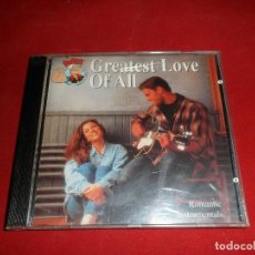 CDs de Música: GREATEST LOVE OF ALL. ROMANTIC INSTRUMENTALS. Lote 115191455