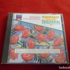 CDs de Música: MANTOVANI & HIS ORCHESTRA. CONCERT SUCCESSES. LONDON ADRM. Lote 115191843