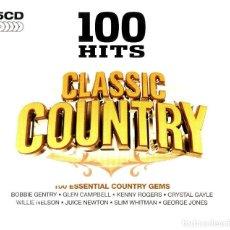 CDs de Música: 100 HITS CALSSIC COUNTRY 5 CDS PRECINTADO. Lote 115221543