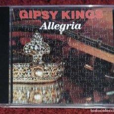CDs de Música: GIPSY KINGS (ALLEGRIA) CD 1990. Lote 115237015
