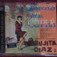 CDs de Música: MARUJITA DIAZ (... Y DESPUES DEL CUPLE) CD 1996 SERIE CIEN AÑOS DE CINE ESPAÑOL. Lote 115237203