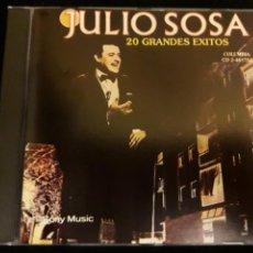 CDs de Música: JULIO SOSA CD 20 GRANDES EXITOS TANGOS +5 € ENVIO C.N. Lote 171556598