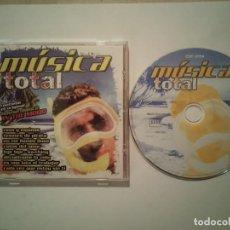 CDs de Música: CD DOBLE ORIGINAL - MUSICA TOTAL IN THE MOOD - DANCE - DJ'S - HOUSE - ELECTRONICA. Lote 115261239