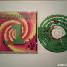 CDs de Música: CD DOBLE ORIGINAL - EURODANCE VOL 1 GRAN VELVET - DANCE - ELECTRONICA. Lote 115261271