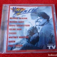 CDs de Música: (XM)-CD-ROCKMANTIC ANUNCIADO TV. Lote 115267827