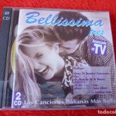 CDs de Música: (XM)-CD-BELLISSIMA TRES - LAS CANCIONES ITALIANAS MAS BELLAS - DOBLE CD. Lote 115270439