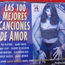 CDs de Música: (XM)-CD-LAS 100 MEJORES CANCIONES DE AMOR - 1995 - 4 CD . Lote 115275559