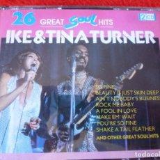 CDs de Música: (XM)-CD-26 GREAT SOUL HITS IKE&TINA TURNER-DOBLE CD.. Lote 115275931