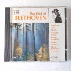 CDs de Música: THE BEST OF BEETHOVEN GERMANY. Lote 115277327