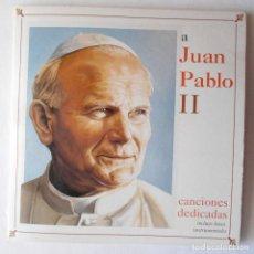 CDs de Música: CANCIONES DEDICADAS AL JUAN PABLO II. Lote 115279431