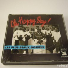 CDs de Música: OH HAPPY DAY CD LES PLUS BEAUX GOSPELS. Lote 115281859