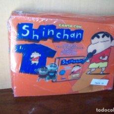 CDs de Música: CANTA CON SHINCHAN - CD + CAMISETA TALLA 10 + 2 FIGURAS PVC NUEVO PRECINTADO. Lote 115286587