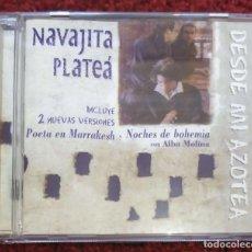CDs de Música: NAVAJITA PLATEA (DESDE MI AZOTEA) CD 1999 - ALBA DE MOLINA. Lote 115292083