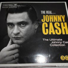 CDs de Música: THE REAL ...JOHNNY CASH THE ULTIMATE COLLECTION 3 CD. Lote 115296315