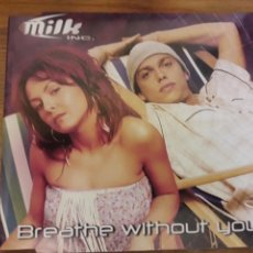 CDs de Música: MILK CD MAXI BREATHE WITHOUT YOU. Lote 115307743