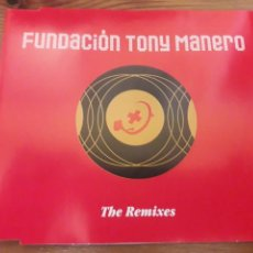 CDs de Música: FUNDACION TONY MANERO CD MAXI THE REMIXES EMI 2003 MUY DIFICIL DE CONSEGUIR. Lote 115308090