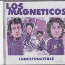 CDs de Música: LOS MAGNÉTICOS CD INDESTRUCTIBLE 2001. Lote 115319883