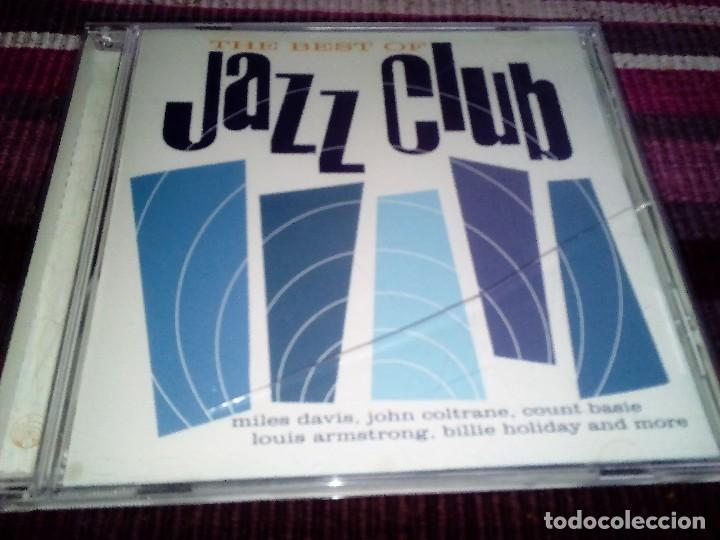 THE BEST OF JAZZ CLUB BILLIE HOLIDAY MILES DAVIS LOUIS ARMSTRONG,    18  SONGS CD ORIGINAL