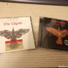 CDs de Música: LOTE CD EL CUERVO - THE CROW BANDA SONORA ORIGINAL SOUNDTRACK BSO OST BRANDON LEE / CITY OF ANGELS. Lote 115371631