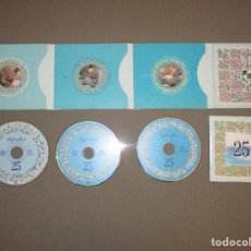 CDs de Música: CAFE DEL MAR ( 25 TH ANNIVERSARY ( 1980 - 2005 )) - 3 CD DIGIPACK - LUMININIUS - TOM OLIVER - KORU . Lote 115378519