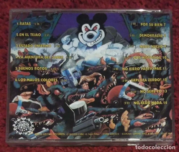 CDs de Música: SOZIEDAD ALKOHOLIKA (RATAS) CD 1995 - Foto 2 - 115393239