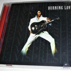 CDs de Música: ELVIS PRESLEY - BURNING LOVE - CD / INCLUYE *GET BACK* DE LOS BEATLES EN DIRECTO.. Lote 115417519