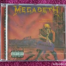 CDs de Música: MEGADETH - PEACE SELLS... BUT WHO'S BUYING? CD NUEVO Y PRECINTADO - THRASH METAL HEAVY METAL. Lote 115427787