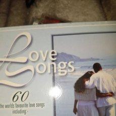 CDs de Música: CDS9//LOVE SONGS//3CD'S. Lote 115434566