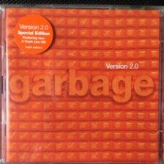 CDs de Música: GARBAGE-VERSION 2.0 SPECIAL EDITION 2 CD-1999. Lote 115476768