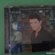 CDs de Música: MÁS CD ALEJANDRO SANZ. Lote 115481163