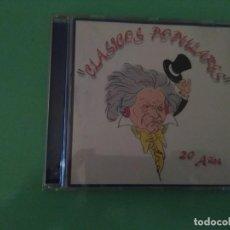 CDs de Música: CLÁSICOS POPULARES 20 AÑOS. Lote 115483123