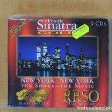 CDs de Música: FRANK SINATRA - GOLD NEW YORK NEW YORK - 3 CD. Lote 115510422