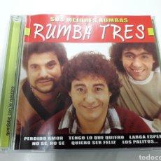 CDs de Música: RUMBA TRES CD SUS MEJORES RUMBAS + 5 € ENVIO C.N.. Lote 115516603