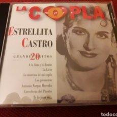 CDs de Música: ESTRELLITA CASTRO CD 20 GRANDES EXITOS SIEMPRE LA COPLA + 5 € ENVIO.C.N. Lote 221862747