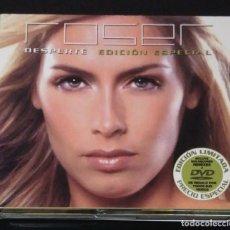 CDs de Música: ROSER (DESPERTE) CD + DVD 2003 EDICIÓN ESPECIAL LIMITADA - REMIXES Y VIDEOCLIPS. Lote 115529219