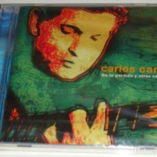 CDs de Música: CD - CARLOS CANO - DE LO PERDIDO Y OTRAS COPLAS - NUEVO Y PRECINTADO - CARLOS CANO. Lote 115534743