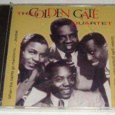 CDs de Música: CD- THE GOLDEN GATE QUARTET -PRECINTADO- GOLDEN GATE GOSPEL TRAIN. Lote 115540347