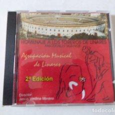 CDs de Música: HOMENAJE A LOS TOREROS DE LINARES. 15 TEMAS. Lote 115555651