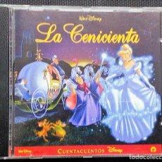 CDs de Música: LA CENICIENTA CD CUENTACUENTOS DISNEY-WALT DISNEY 2003-. Lote 115631019