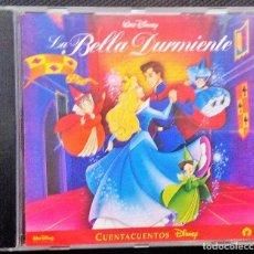 CDs de Música: LA BELLA DURMIENTE- CD CUENTACUENTOS DISNEY-WALT DISNEY 2003-. Lote 115631071
