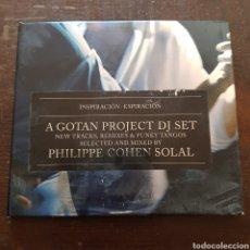 CDs de Música: GOTAN PROJECT DJ SET. INSPIRACIÓN ESPIRACIÓN. CD Y VIDEO CD. 2001. Lote 115647707