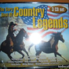CDs de Música: THE VERY BEST OF COUNTRY LEGENDS. Lote 115650679