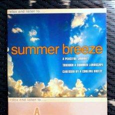 CDs de Música: LOTE 2 CD RELAJACIÓN SUMMER BREEZE, A WHITER SHADE OF PALE. SIN USO. CAJA CARTÓN. BUEN ESTADO . Lote 115698171