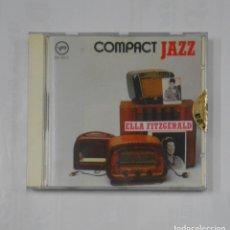 CDs de Música: ELLA FITZGERALD. COMPACT JAZZ. CD. TDKV16. Lote 115713763