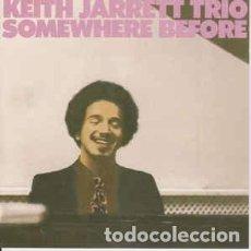 CDs de Música: KEITH JARRETT TRIO - SOMEWHERE BEFORE (CD, ALBUM, RE, RP) LABEL:ATLANTIC JAZZ CAT#: 7567-81455-2 . Lote 115731071