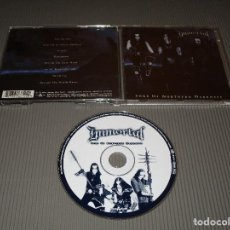 CDs de Música: IMMORTAL ( SONS OF NORTHERN DARKNESS ) - CD - NUCLEAR BLAST - 27361 66122 - ONE BY ONE .... Lote 115735815