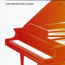 CDs de Música: ARTHUR RUBINSTEIN, CHOPIN. 2 CDS VARIOS. LOS GENIOS DEL PIANO. COLECCIONABLES EL PAIS NÚM. 1 . Lote 115754359