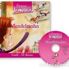CDs de Música: ERASE.. LA MUSICA. VARIOS. CUENTO + CD AUDIO. MENDELSSOHN . Lote 115853991
